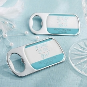 He Asked, She Said Yes Personalized Bottle Opener