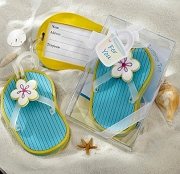 Flip-Flop Luggage Tag in Beach -Themed Gift Box