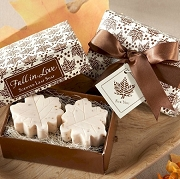Fall in Love Scented Leaf Shaped Soaps