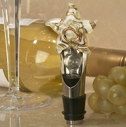 Starfish Design Wine Pourer and Bottle Stopper