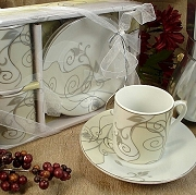 Two Tone Italian Espresso Set