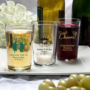 Personalized Bistro Glasses 7 Ounce
