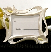 Calla Lily Photo and Place Card Frame