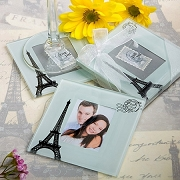 From Paris with Love Wedding Coaster Set of 2