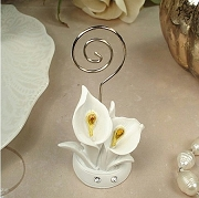 Calla Lily Design Placecard Holder