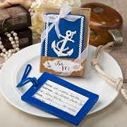 Nautical Anchor Luggage Tags