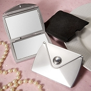 Purse Design Compact Mirror