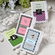 Personalized Notebook Wedding Favors
