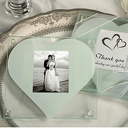 Photo Coaster With Heart Cut Out (set of 2)