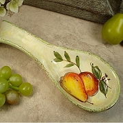 Spoon Rest Favors with Pear Design