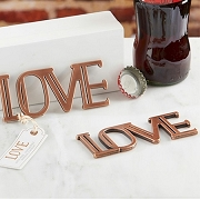 Copper LOVE Bottle Opener