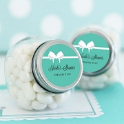 Bridal Shower Candy Jar Favors - Bride & Co Personalized Stickers