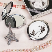 Classy Compact Mirror with Shoe Design