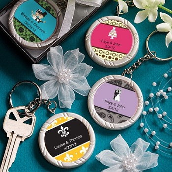 Personalized Key Chain Favors