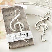 Symphony Chrome Music Note Bottle Opener