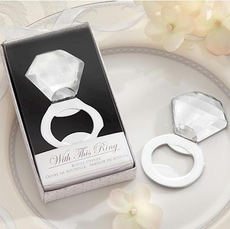 Shine Sparkle Pop Diamond Ring Bottle Opener