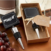 Chalkboard Wine Bottle Stopper