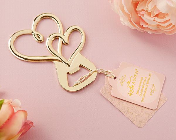 Gold Double Heart Bott...