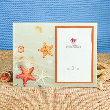 Cheap Wedding Favor Tags Canada : Home > Essentials > Placecard Holders > Beach Theme Glass Picture ...