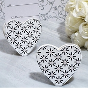 Stylish Heart Place Card Holder