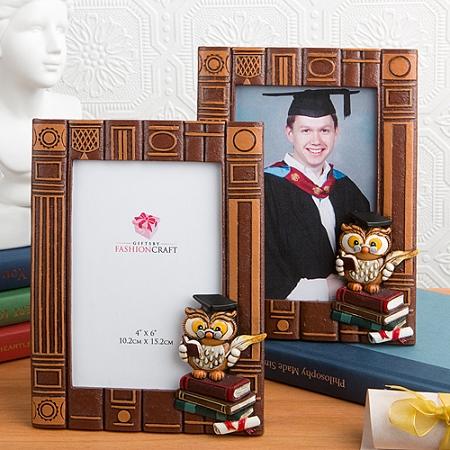 Graduation Owl Themed Photo Frame - Graduation Ceremony Picture Frame