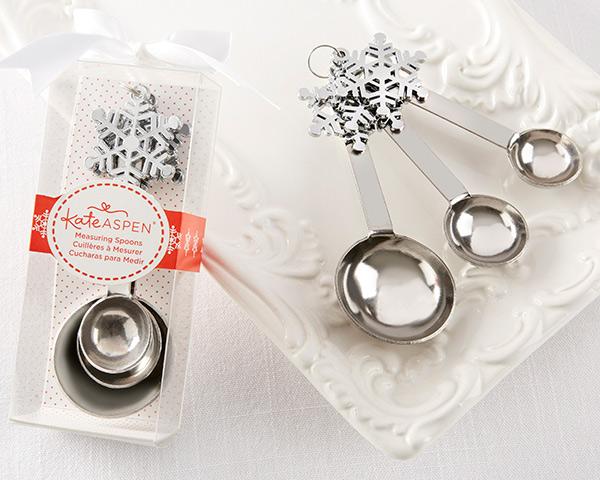 Snowflake Measuring Spoon Wedding Favors Winter Wedding Favors