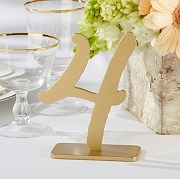 Good As Gold Classic Table Numbers (1- 6)