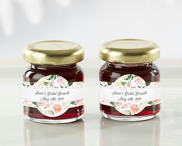 Strawberry Jam Jar Party Favors Wedding Bridal Shower Tea Party
