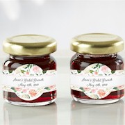 Personalized Strawberry Jam (Set of 12) - Bridal Brunch
