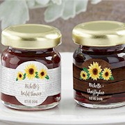 Personalized Strawberry Jam (Set of 12) - Sunflower