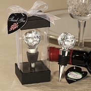 Crystal Ball Design Wine Stopper