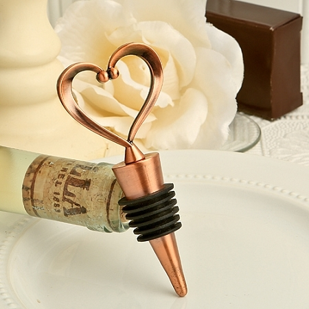 Vintage One Love One Heart Bottle Stoppers