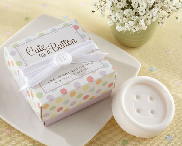 Baby Shower Soap Favors Cute As A Button