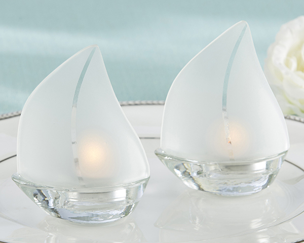 Sailboat tealight holders set of 4 - Sailboat tealight holders ...