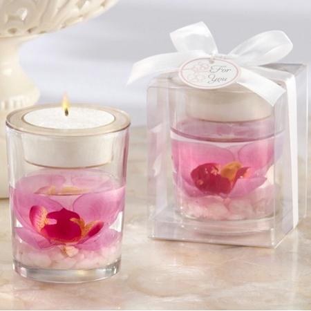 Elegant Orchid Tealight Holder