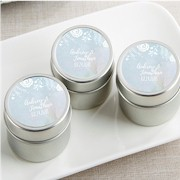 Personalized Travel Candle - Ethereal Water Color