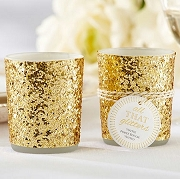 All That Glitters Gold Votive Holder (Set of 4)