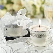 Teacups Miniature Porcelain Tealight Holders