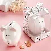 Li'l Saver Favor Ceramic Mini Piggy Bank