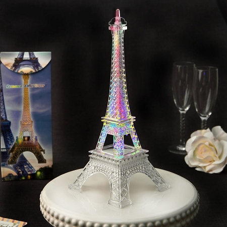 Eiffel Tower Wedding Reception Table Centerpiece