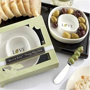 Olive You Olive Tray and Spreader Set