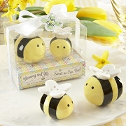 Sweet as Can Bee Honeybee Salt & Pepper Shaker