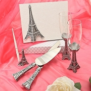 Eiffel Tower Wedding Day Accessories
