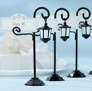 Bourbon Street Streetlight Placecard Holder (set of 4)
