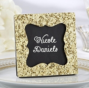 All that Glitters Gold Glitter Frame