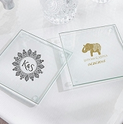 Glass Coaster - Indian Jewel (set of 12)