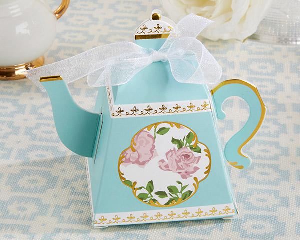 Teapot Favor Box Tea Party Supplies Teatime Party Decoration