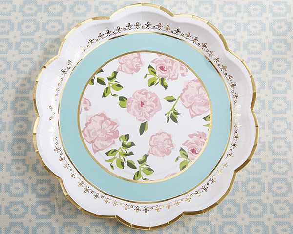 sc 1 st  Wedding Favor Discount & Tea Party Paper Plates - Teatime Party Supplies