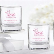 Personalized Shot Glass (3.5 oz) - Little Princess