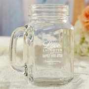 Personalized 16 oz. Mason Jar Wedding Favors - Over 200 Designs